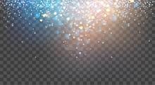 Abstract Glitter Background. V...