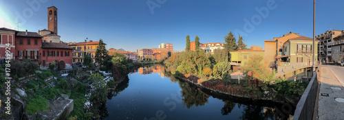 Fotografie, Obraz un pomeriggio a Melegnano paesino della provincia di Milano