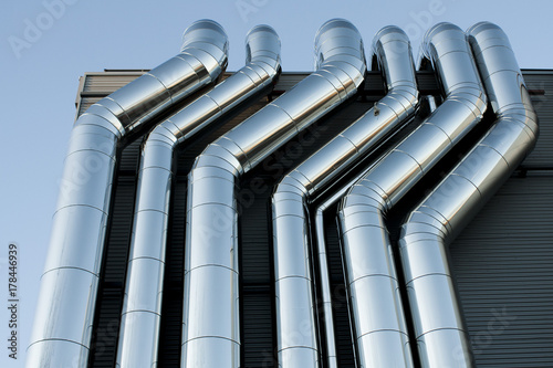 HVAC Aire acondicionado Canvas Print