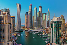 General View Of Dubai Marina A...
