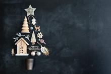 Christmas Tree Flat Lay