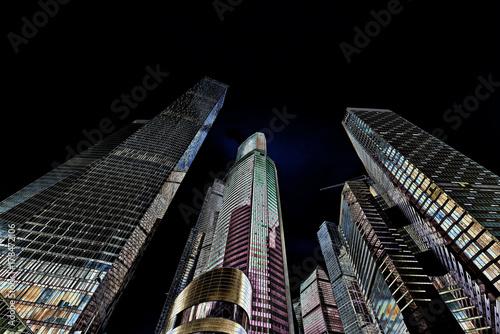 Canvas Prints Kuala Lumpur Buildings low angle view