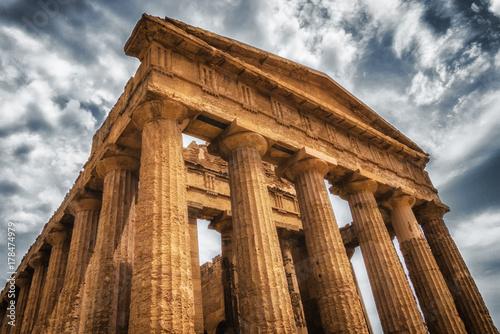 Plakat Świątynia Concordia w Agrigento