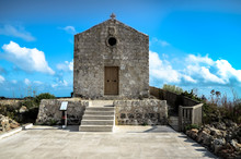 St Mary Magdalene Chapel At Dingli In Malta