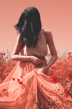 Infrared Style. Brunette In Th...