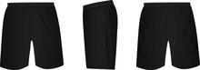 Black Shorts. Vector Illustration