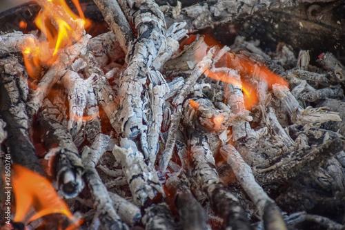 Plakat Ogień