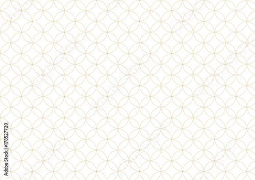 パターン-七宝 Canvas
