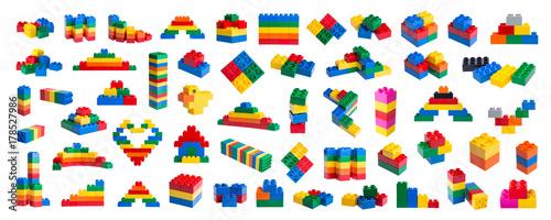 Plastic building blocks Poster Mural XXL