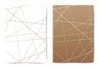 Abstract futuristic thin line pattern folder layout template