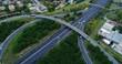 écheangeur sur autoroute
