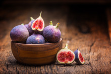 Figs. A Few Figs In A Bowl On ...