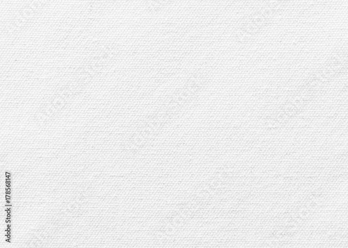 Aluminium Prints Fabric White canvas burlap texture background with cotton fabric pattern in light grey for arts painting backdrop, sacking and bagging design