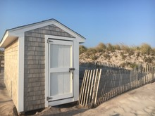 A Storage Shed On The Beach