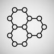 Line icon- dna
