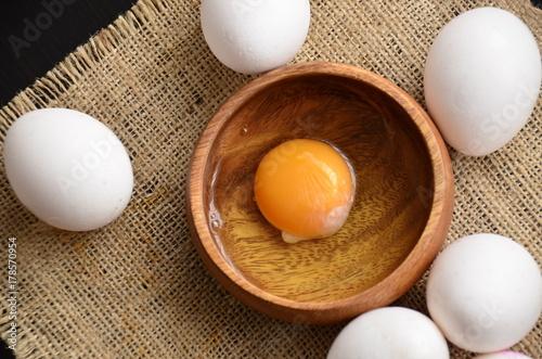 Fototapeta Ekologiczne jajka