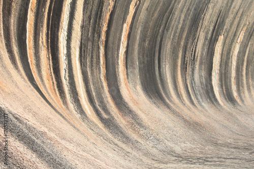 Fototapety, obrazy: Colorful wave rock in Australia