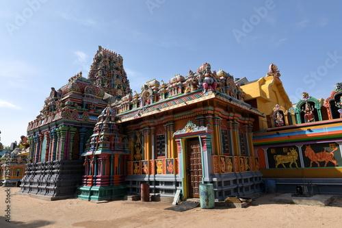 Plakat Hinduska świątynia Trincomalee w Sri Lanka