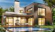 Leinwanddruck Bild - The dream house 83
