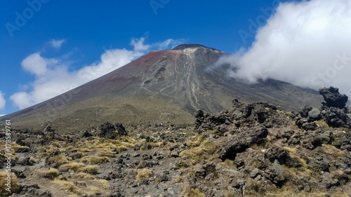 Fotografie, Tablou  Montagne du destin Mount Doom Tongariro National Park