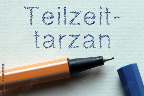 Photo  Jugendwort des Jahres - Teilzeittarzan