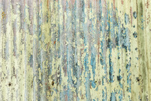 Old Rustic Paint Surface Texture On Metal Background