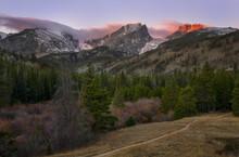 Sunrise In Rocky Mountain Nati...