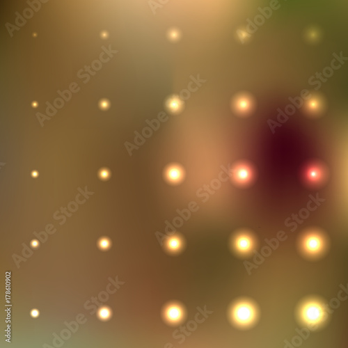 Fototapeta Bright flare vector collection in many different size. Set of decorative and festive flare vector illustration in transparent color on a gradient mesh background. obraz na płótnie