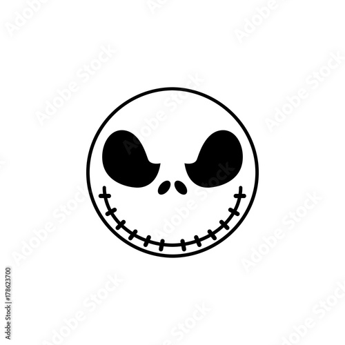Photo Jack Skellington icon