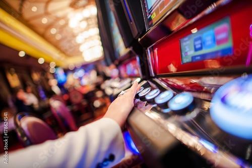 Casino Slot Video Games плакат