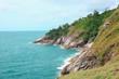 Lem Kra Ting Cape at Phuket Thailand