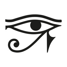 Egypt Eye. Vector.