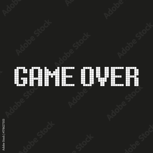 500_F_178627503_vpXEZBMroGwpdx4Il3rG0vpFLOFRlKMX Pixel Art Game Over @koolgadgetz.com.info