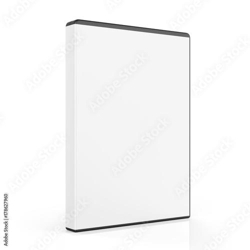 Fotomural  Blank DVD Case Isolated