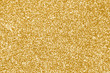 canvas print picture - Gold glitter texture or golden sparkle background