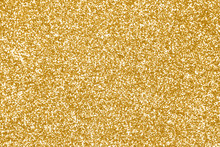 Gold Glitter Texture Or Golden...