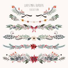 Christmas Borders Collection W...