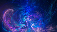 Fractal Abstract Background In...
