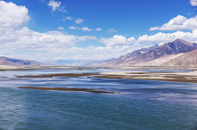 Typical Landscape Of Tibet - H...