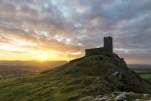 Brentor Church At Sunrise With...