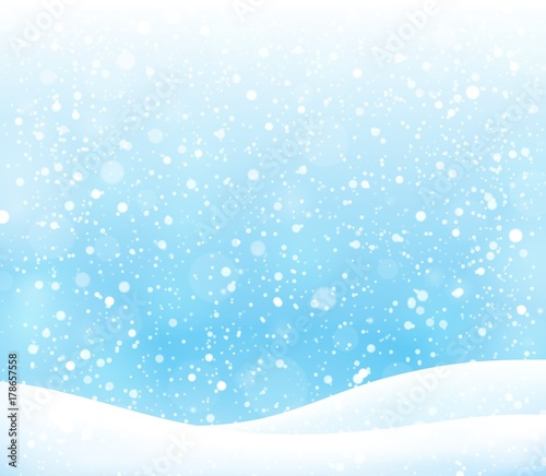 Printed kitchen splashbacks For Kids Abstract snow topic background 3