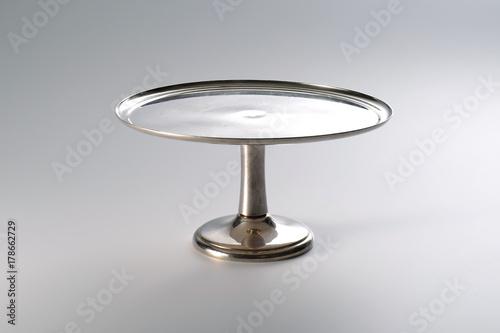 silver raised platform