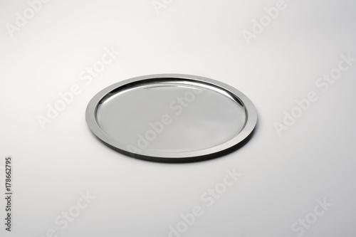 steel round tray