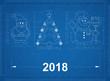 New Year Symbols - Blueprint