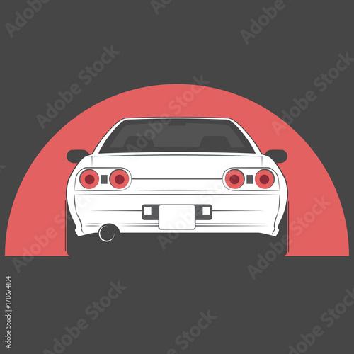 vector-sport-japan-car-car-sketch-back-view
