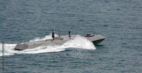 Photo  Singapore Navy's new high speed naval interceptor
