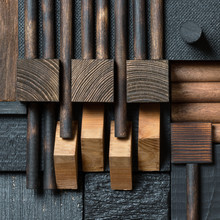 Abstract Wood Block Background