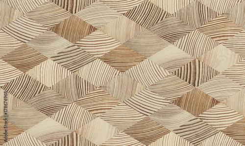 End grain wood texture
