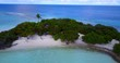 v11606 maldives white sand beach tropical islands with drone aerial flying birds eye view with aqua blue sea water and sunny sky