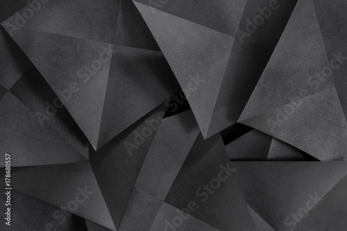 Obrazy szare grafitowa-geometria